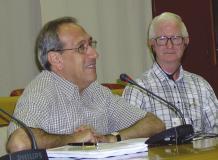 Fra-Pascual-Piles-Superiore-generale-e-Fra-Donatus-Forkan-primo-consigliere-generale