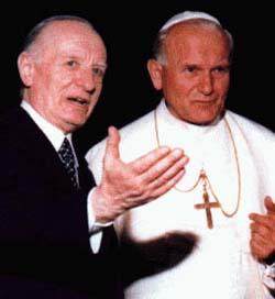 Lazzati con Giovanni Paolo II - 91539