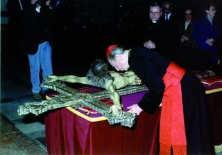 l'arcivescovo di milano, card. carlo maria martini partecipa*