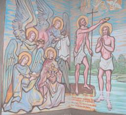Michelini - Gesù batezzato nel Giordano