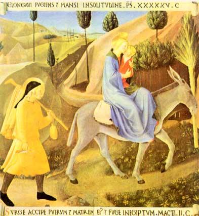 asino - Fuga in Egitto