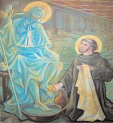 Michelini - 4 Giovanni di Dio lava i piedi