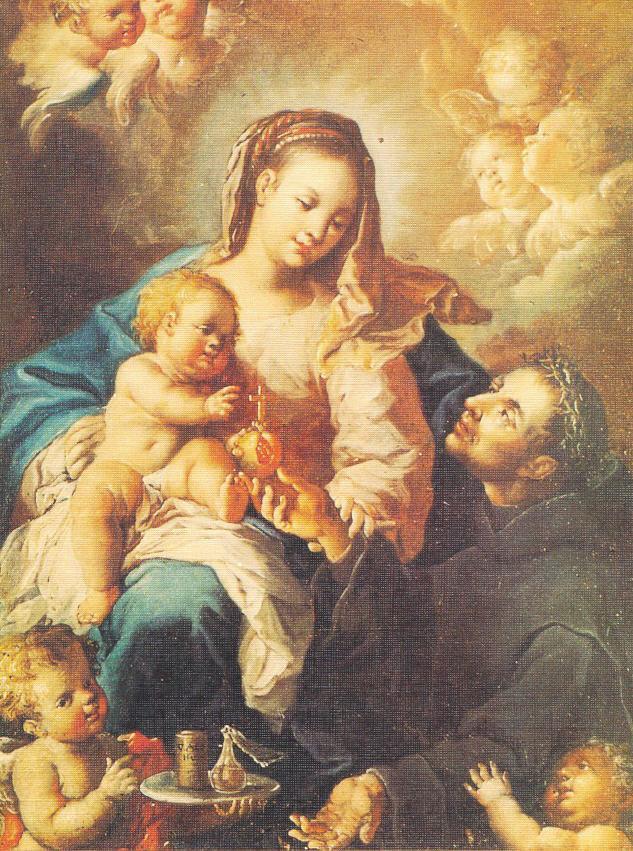 San Giovann di Dio con la Madonna