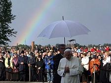 Benedetto XVI - L'arcobaleno della pace.