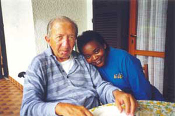 Don Giussani e Rose Busingye
