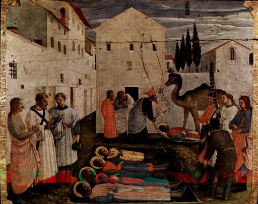 Medici - Sepoltura di Cosma e Damiano medici