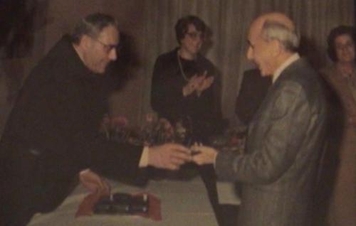 Micheli Pierluigi con Padre Giulio Gatti 06 agregato ai FBF