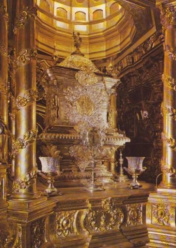 Urna reliquie di San Giovanni di Dio Basilica di Granada