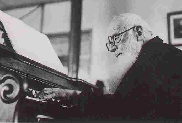 Vincenzo Cimatti all'organo