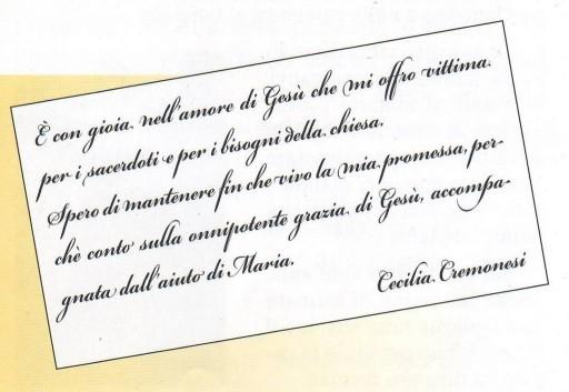 Cecilia Maria Cremonesi